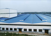 Steel Structure Factory for Manufacturing Ceramic Products