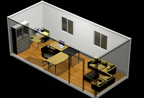 Build An Eichler Ranch House 8 Original Design House Plans Available Today in addition New York Citys 14 Most Famous Micro Apartments together with Mid Century Interior Design Flashback besides 8 House as well Containerhouse3. on 2 houses connected design